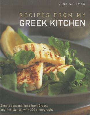 Recipes from My Greek Kitchen By Salaman, Rena